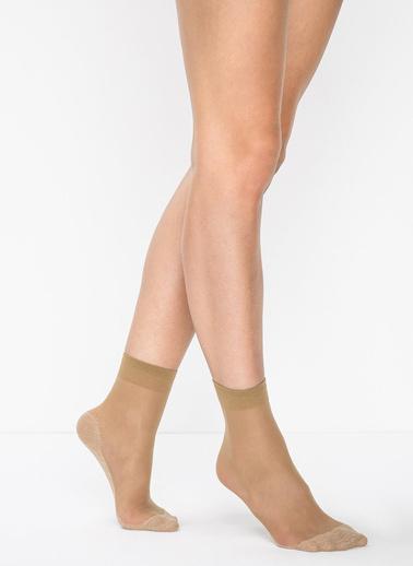Penti Konfor Soket Çorap Ten